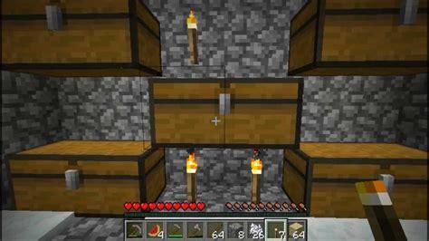 minecraft chest room minecraft skyblock 2 1 secret chest room part 8
