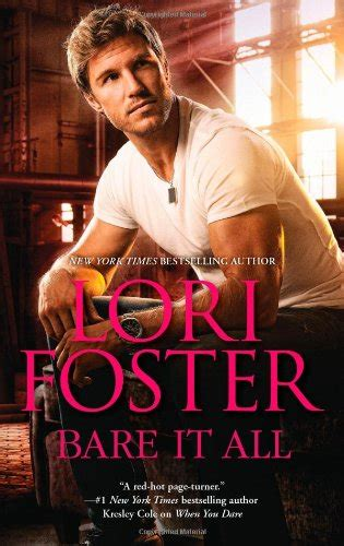 Novel Harlequin Trace Of Fever Lori Foster bare it all by lori foster reviewed by autumn fic talk