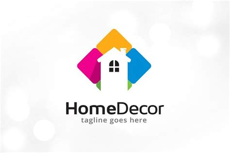 home decor logo template logo templates creative market
