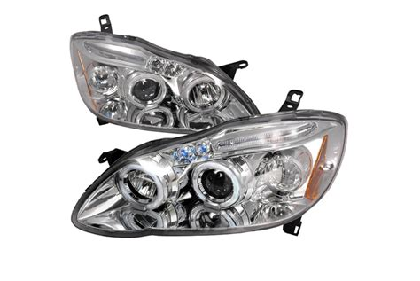 2004 Toyota Corolla Headlights 2004 Toyota Corolla Custom Headlights Aftermarket Headlights