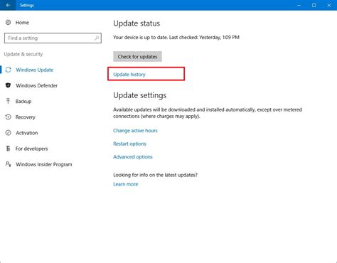 in update how to uninstall and reinstall updates on windows 10