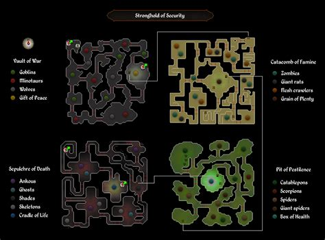 Image   Stronghold of security map.png   Old  RuneScape Wiki   FANDOM powered by Wikia