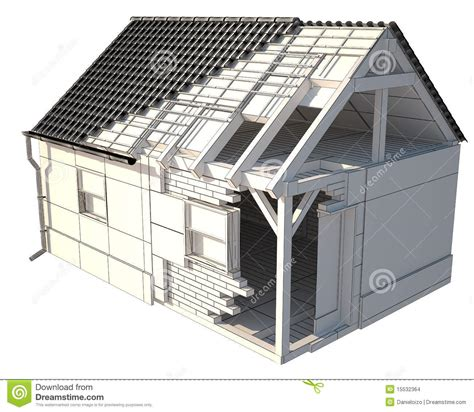 House Structure House Structure Stock Images Image 15532364