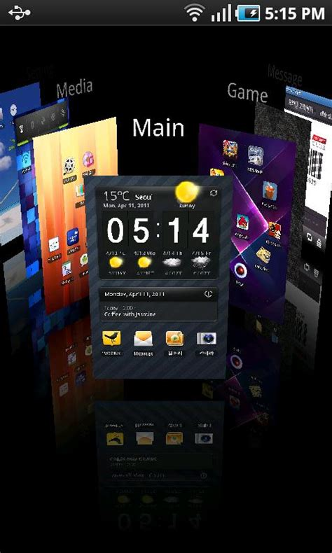 cool launchers for android new cool 3d launcher 3d for android