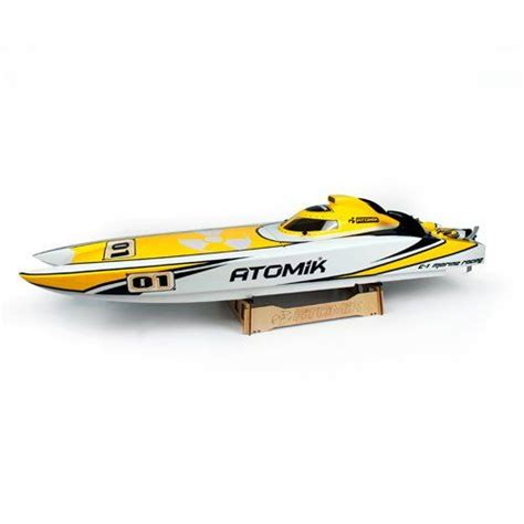 rc sw boat electric atomik arc 58in rtr brushless rc boat atomik rc http www