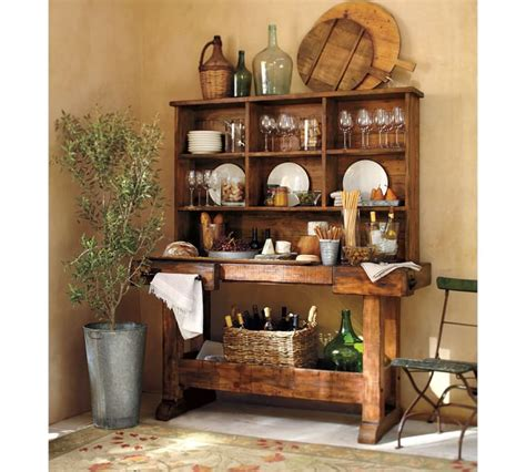 pottery barn kitchen kitchen decor woven wine bottles and baskets from pottery barn kitchentoday