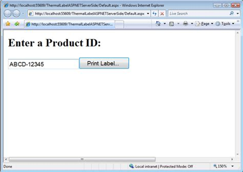 design label in asp net how to print barcode thermal labels in asp net with
