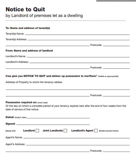 notice landlord moving letter sle report882 web fc2