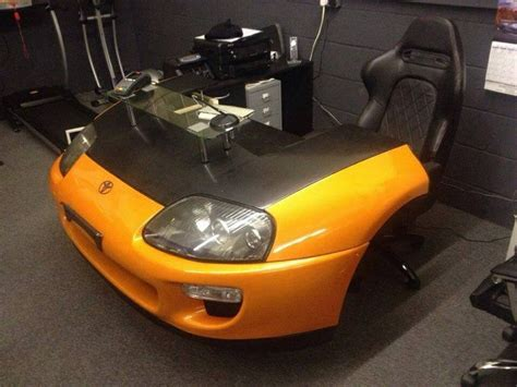 car desk another cool car desk classic cars what other ways to