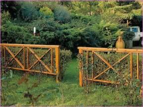 Ideas For Decorative Garden Fence Decorative Chain Link Fence Cover Home Design Ideas