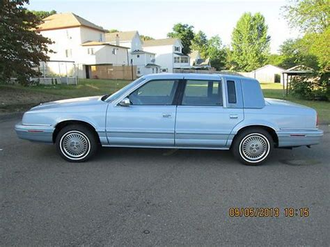 93 chrysler new yorker buy used clean 93 new yorker 5th ave rust free