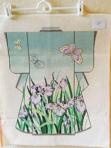 kimono needlepoint pattern 142 best needlepoint oriental kimonos images on pinterest
