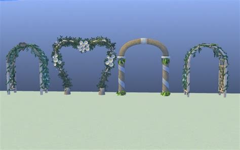 Wedding Arch Sims 3 by All Sims 3 Wedding Arch S Set By G1g2 At Mod The Sims