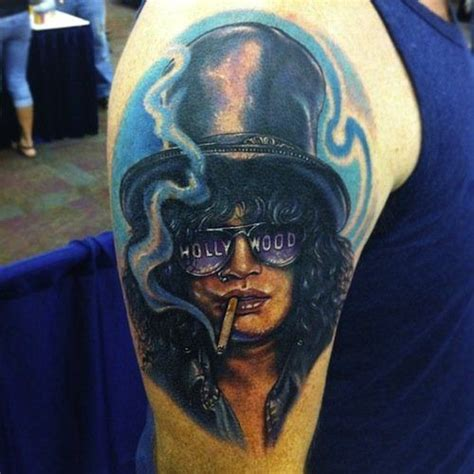 slash tattoo 411 best images about guns n roses yes i am an addict on
