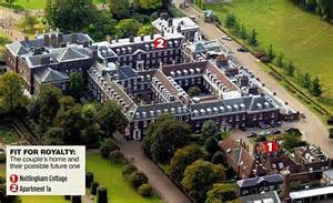 apartment 1a at kensington palace not your average two bed cottage william and kate get starter home in kensington palace