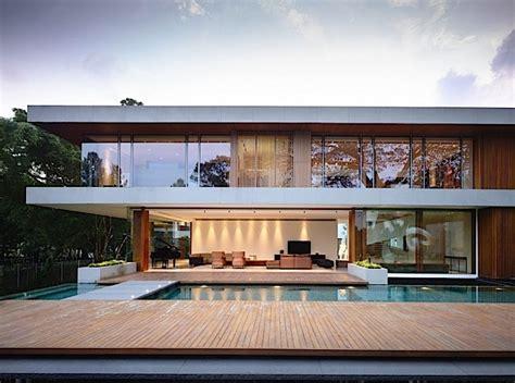 modernes wohnhaus architektur ein modernes wohnhaus in singapur klonblog