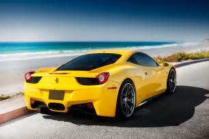 Yellow Ferraris Yellow 458 Wallpapers And Images Wallpapers