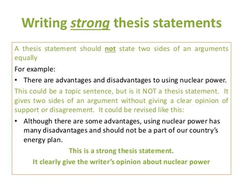 How To Make Thesis Statement For A Research Paper - strong thesis statement for research paper sle