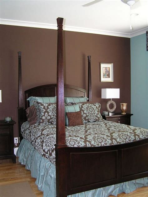 chocolate bedroom bedroom decorating ideas in blue and brown home delightful