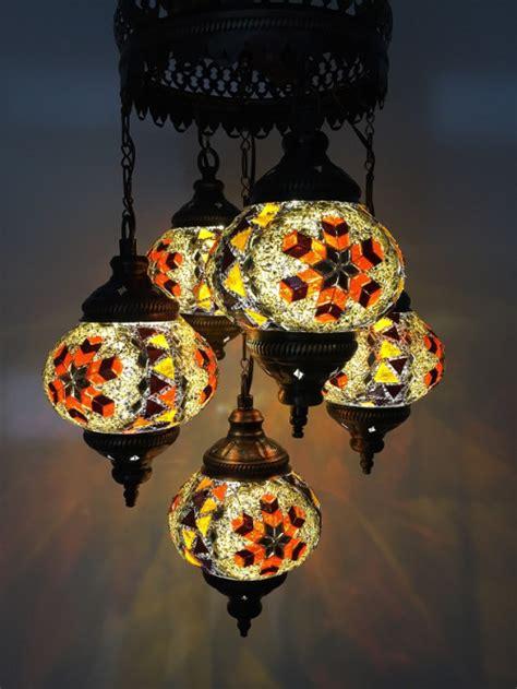 mosaic chandelier turkish 5 balls turkish mosaic chandelier l worldsaleslight