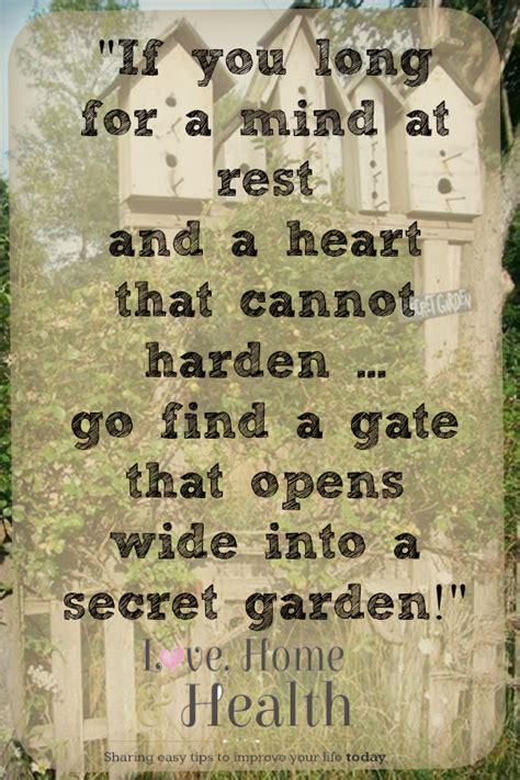 Garden Quotes Garden Gate Quotes Quotesgram