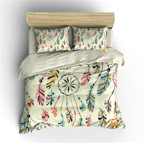 dreamcatcher bedding boho chic bedding duvet cover set dream catcher southwest