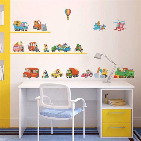Wandtattoo Kinderzimmer Fahrzeuge by Wandsticker Auto Fahrzeuge Der Tiere Wandsticker Kinderzimmer