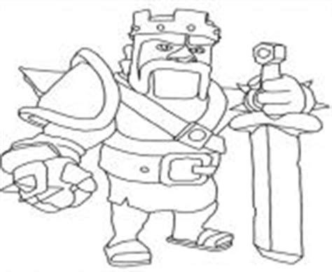 barbarian king coloring pages clash of clans coloring pages color online free printable