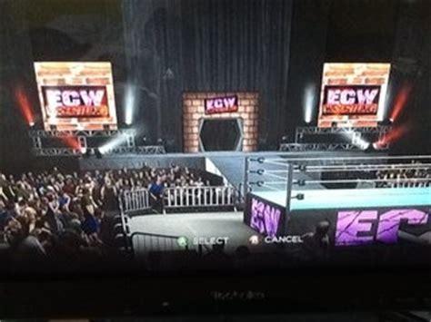 cawsws ecw arena  wwe