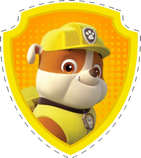 paw patrol party rubble png pictures to pin on pinterest passatempo da ana tags patrulha canina paw patrol