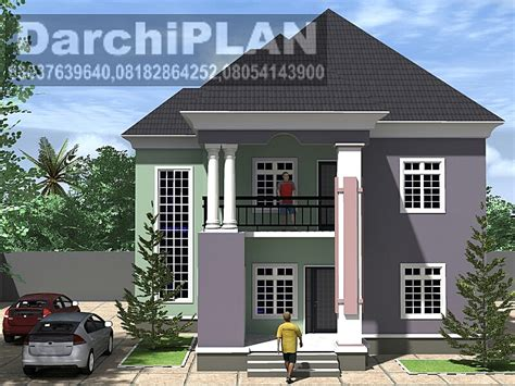 4 bedroom duplex designs nigeria building style architectural designs by darchiplan