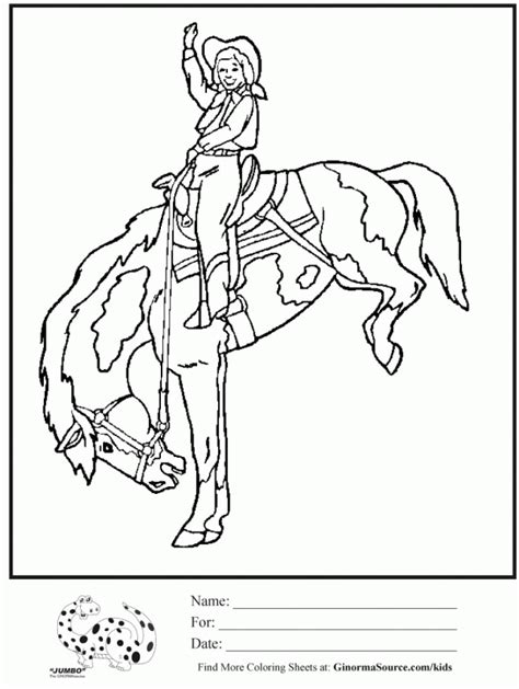 horse and rider coloring pages coloring home