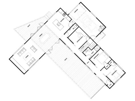 l shaped design floor plans l shaped house plans adelaide modern house plan