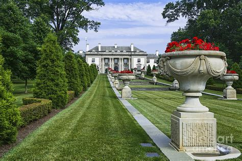 Nemours Gardens by Nemours Mansion And Gardens Photograph By Greim