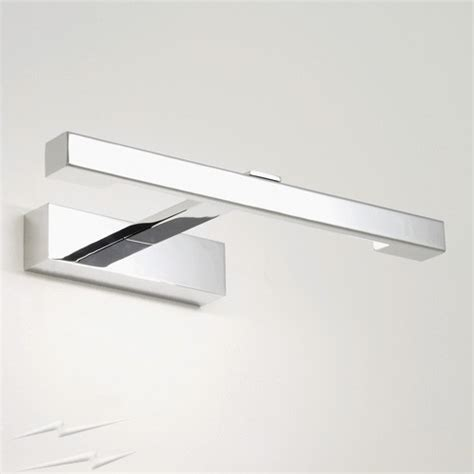 bathroom light above mirror ax0814 kashima ip44 above mirror bathroom light 8w t5 chrome bathroom wall light