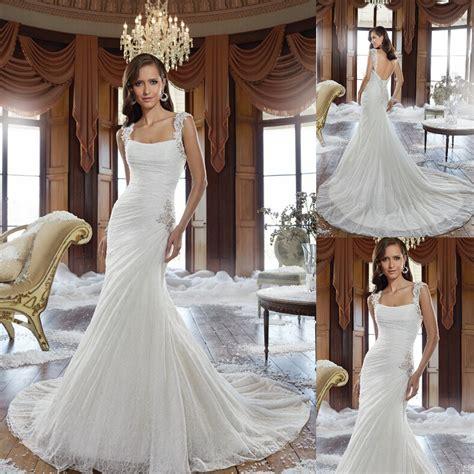 simple  elegant wedding dress   gorgeous corset vintage feel long bridal gowns