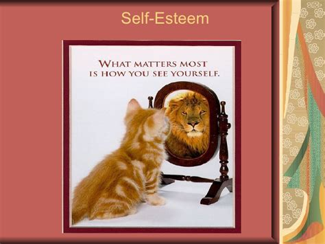 self image self esteem