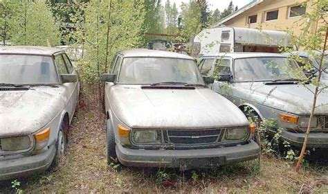 saab junkyard how to find cheap parts for classic saab cars