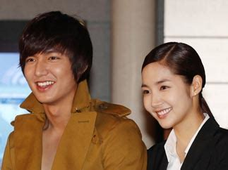 who is the real girlfriend of lee min ho lee min ho answers talk of the town city hunter actors admit they are