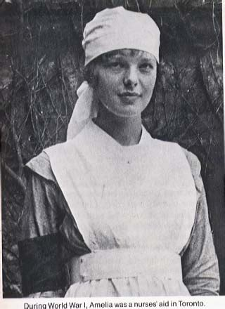 amelia erhart she was a nurses aide in toronto ca