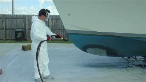 boat under paint fiberglass boat stripping with the dustless blaster youtube