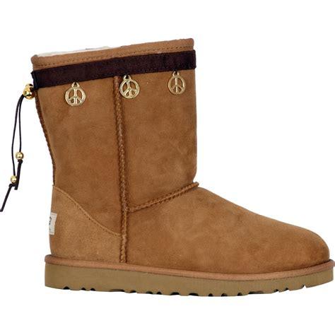 hugs boots boot hug peace sign boot accessory glenn