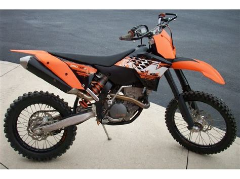 2008 Ktm 250 Xcf Review Buy 2008 Ktm Xc 250 F On 2040motos