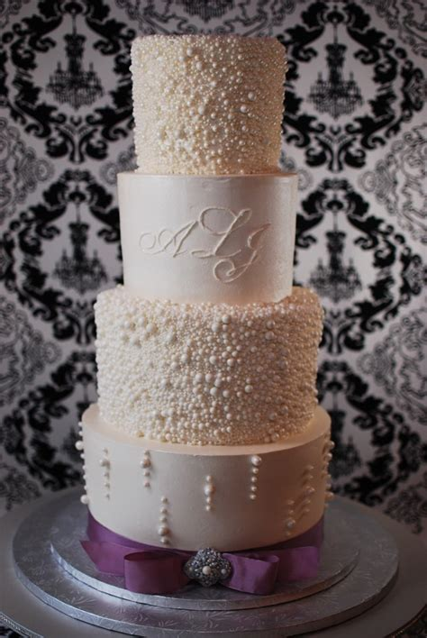 Wedding Cakes With Pearls by Pearl Wedding Cakes A Wedding Cake