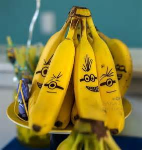 banana minions vegan class snacks soccer