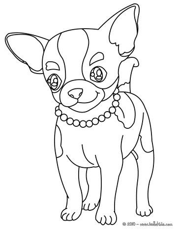 chihuahua coloring pages chihuahua coloring pages hellokids