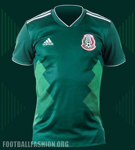 mexico 2018 world cup adidas home jersey football fashion org