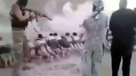 imagenes fuertes estado islamico nueva ejecuci 243 n masiva de los terroristas del estado