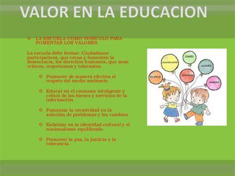 Que Es Un Mba En Educacion by Como Integrar Los Valores En La Educacion
