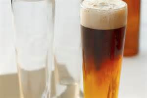 how to make the black and blue beer drink
